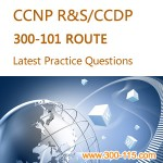 Killtest Cisco 300-101 test, Cisco CCNP 300-101 practice exam